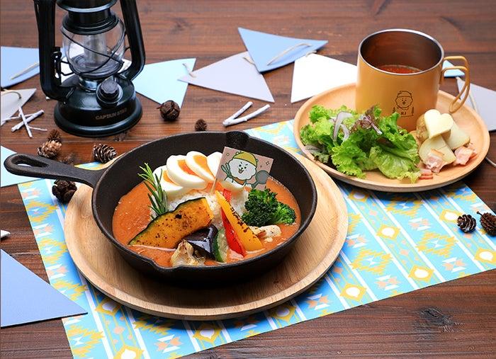 グリル野菜のカレー税込1,870円(C)BT21