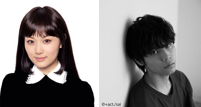 左:山下美月(C)『電影少女 2019』製作委員会・右:萩原利久(C)+act./sai