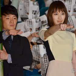 (左から)濱田岳、戸田恵梨香