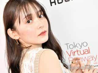 美ボディ話題の久間田琳加、反響語る スタイルキープ法&ガチ私服も公開<「Tokyo Virtual Runway Live by GirlsAward」フィッティングに潜入>