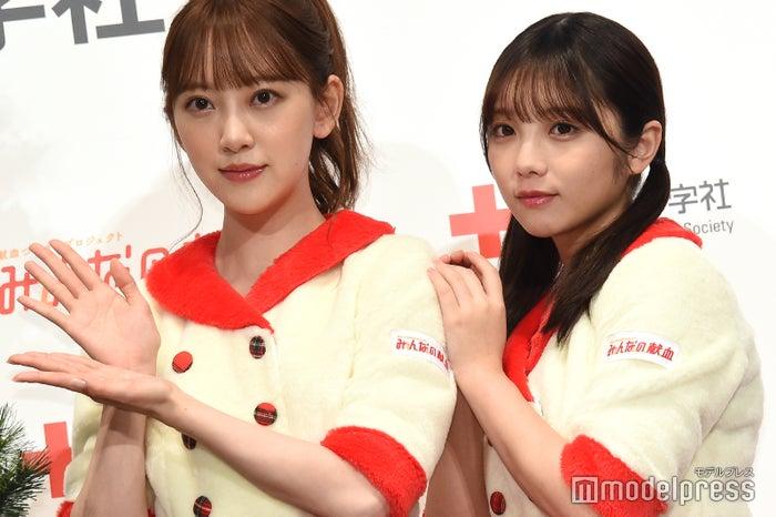 堀未央奈、与田祐希(C)モデルプレス