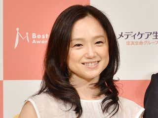 永作博美「ベストマザー賞」受賞に喜び 「毎日ドタバタ」子育てと女優業の両立に奮闘
