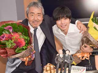 井ノ原快彦「俳優も歌も両方やっていく決意がついた」寺尾聰と合同バースデー「特捜9」チームが涙