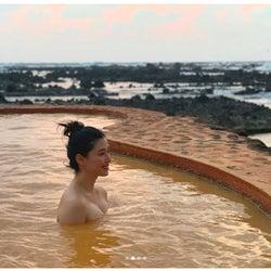 橋本マナミの美谷間あらわな入浴ショットにドキッ「最高のサービスショット」とファン悶絶