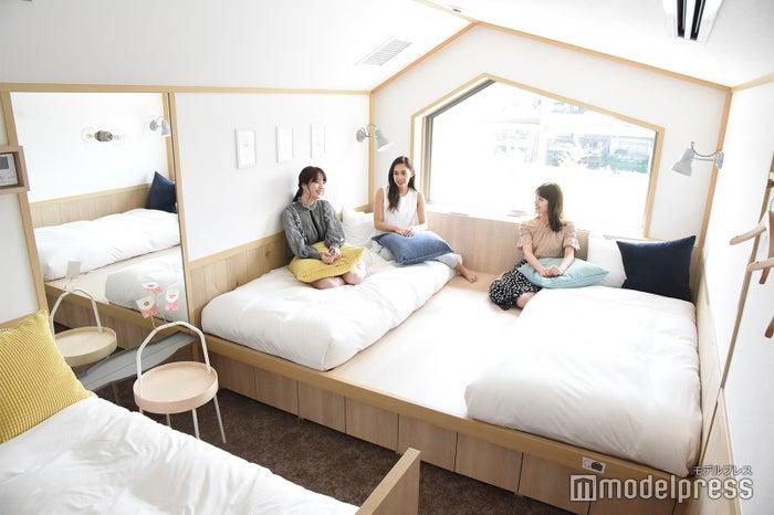 客室は全21室(ベッド台数:65台)(C)モデルプレス