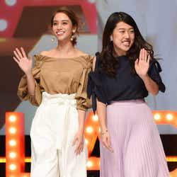 モデルプレス - 横澤夏子、滝沢カレンとのランウェイで嘆き「全然教えてくれないから!」