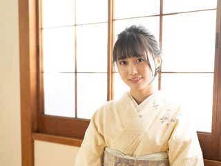 乃木坂46矢久保美緒、しっとり和服姿で茶道披露