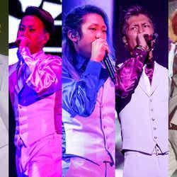 レペゼン地球(左から)MG脇、DJ銀太、DJ社長、DJふぉい、DJまる(C)モデルプレス