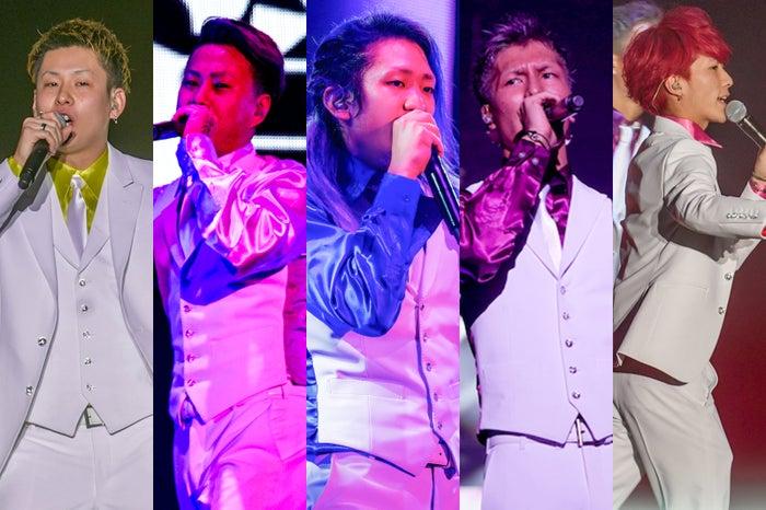 レペゼン地球(左から)MG脇、DJ銀太、DJ社長、DJふぉい、DJまる(提供写真)