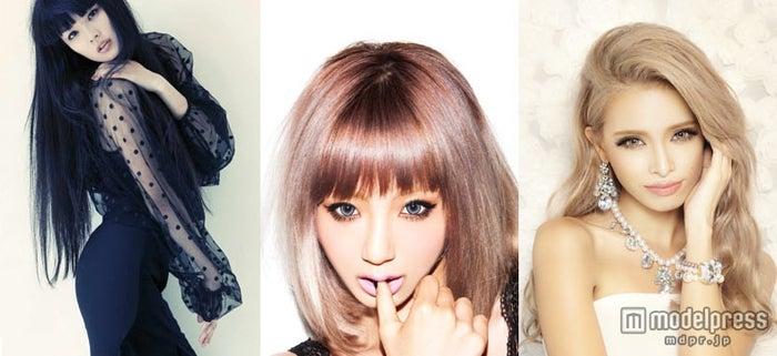 「SLYLANG」とのコラボレーションを展開していく(左から)秋元梢、出岡美咲、尾崎紗代子
