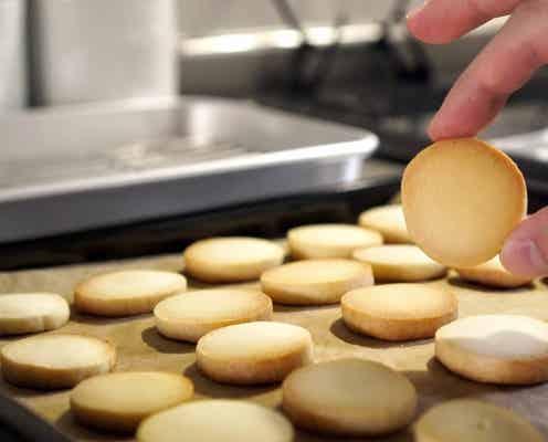 材料3つで簡単すぎ! 甘さひかえめ「練乳クッキー」