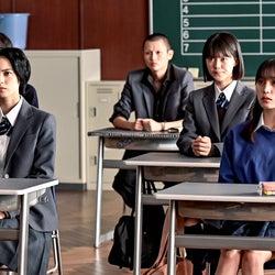 平手友梨奈、西垣匠、志田彩良、南沙良「ドラゴン桜」第9話より(C)TBS