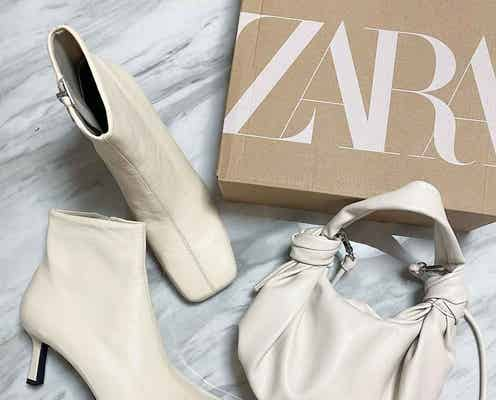 お迎えして正解♡【ZARA】秋冬、超使える「白シューズ」!