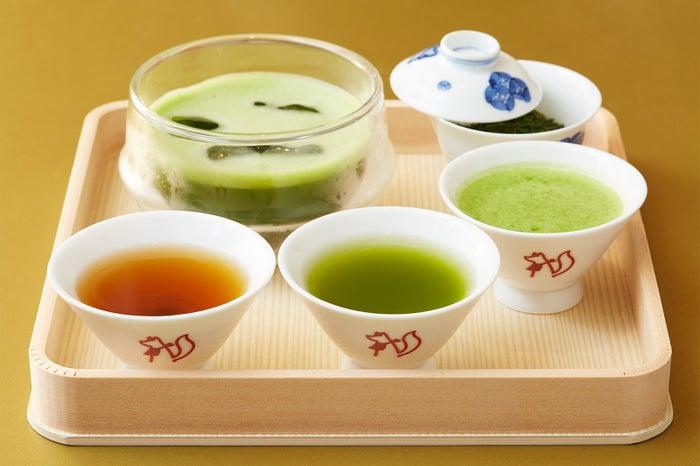 INARI TEAの各種日本茶メニュー/画像提供:渋谷フェイス