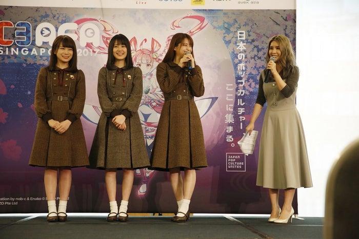 (左から)秋元真夏、生田絵梨花、松村沙友理(写真提供:ソニー・ミュージックレーベルズ)