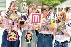 YURINO、SAYAKA、夏恋ファン(C)モデルプレス