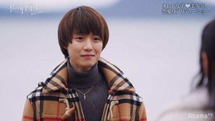 Tokicoに想いを伝える小越勇輝/「私の年下王子さま Winter Lovers」より(C)AbemaTV