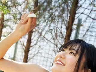 山田南実、水着姿でヘルシー美ボディ披露 1年ぶり「Platinum FLASH」登場
