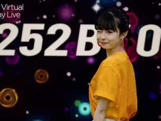 """莉子、""""振り向きウインク""""で可愛らしさ全開<Tokyo Virtual Runway Live by GirlsAward>"""