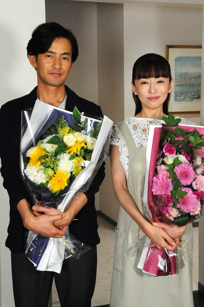 竹野内豊、松雪泰子(画像提供:テレビ朝日)