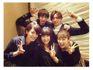 土屋太鳳ら「orange」同級生キャスト集結で打ち上げ 山崎賢人は欠席「5人だと、とても寂しい」