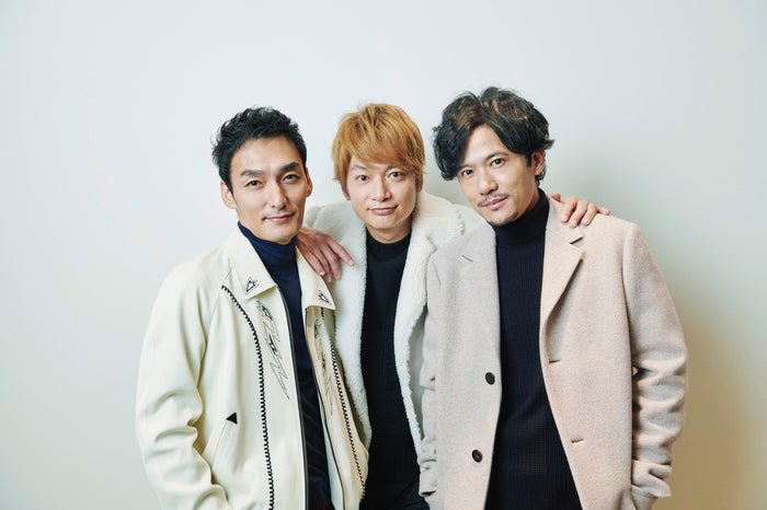 (左から)草なぎ剛、香取慎吾、稲垣吾郎(提供写真)