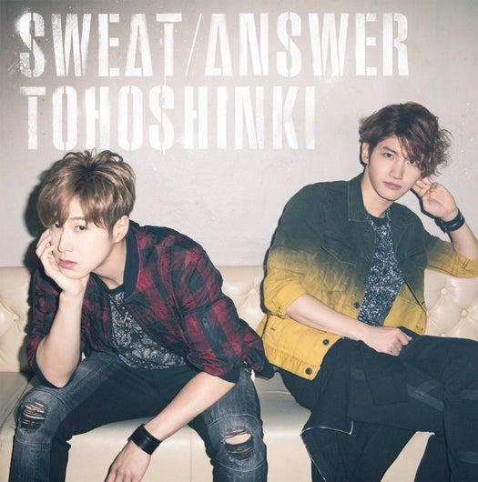 東方神起「Sweat/Answer」[CD+DVD] 【初回限定盤】(2014年6月11日発売)