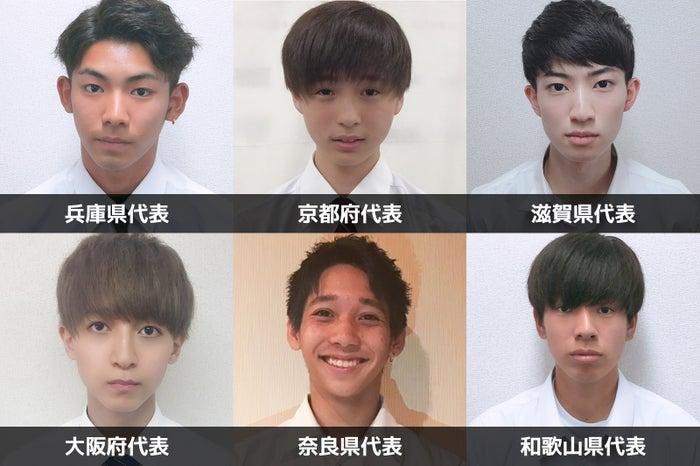 「男子高生ミスターコン2019」関西エリア代表