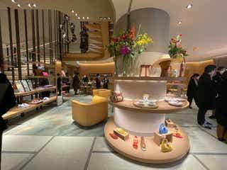 エルメス 表参道店オープン 日本の文化や自然を随所に