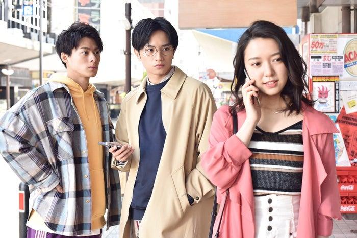 平野紫耀、中島健人、上白石萌音(C)日本テレビ