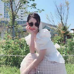 モデルプレス - ダレノガレ明美「小さすぎる」サングラスで際立つ小顔に驚きの声