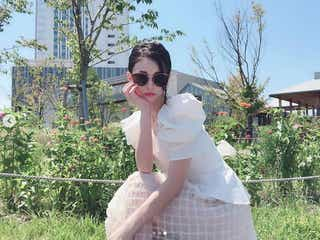 ダレノガレ明美「小さすぎる」サングラスで際立つ小顔に驚きの声