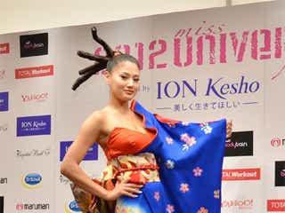 2012ミス・ユニバース決定 日本代表・原綾子の結果は?