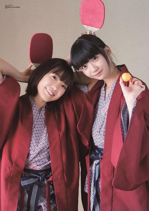 (左から)斉藤朱夏、荻野由佳(写真提供:東京ニュース通信社)