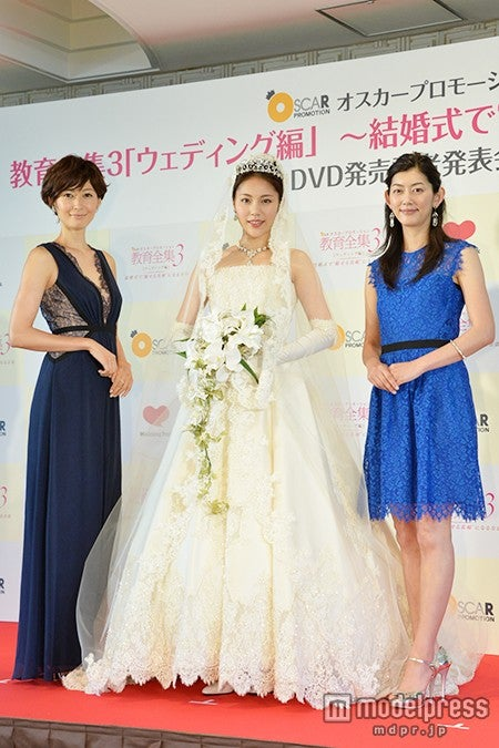 左より:田丸麻紀、水沢エレナ、佐藤藍子