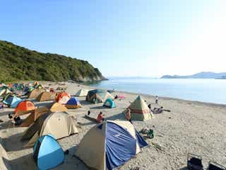 無人島で野外映画フェス「MUJINTO cinema CAMP KANSAI 2020」大自然の中で映画鑑賞