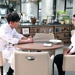 木村拓哉、中村アン/「グランメゾン東京」第9話より(C)TBS