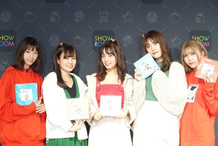 (左から)西野七瀬、伊藤かりん、斉藤優里、伊藤純奈、川後陽菜(提供写真)