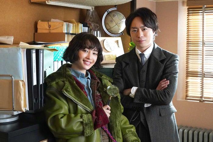 広瀬すず、櫻井翔 (C)日本テレビ