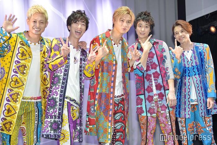 (左から)塚田僚一、河合郁人、橋本良亮、戸塚祥太、五関晃一(C)モデルプレス