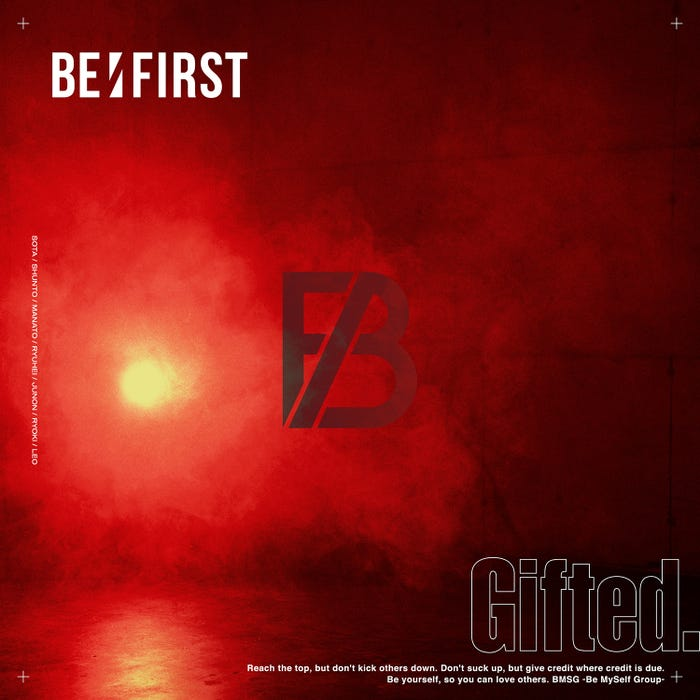 BE:FIRST「Gifted.」(提供写真)