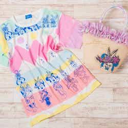 Tシャツ、トートバッグ(C)Disney