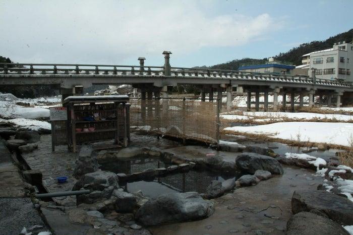 「三朝温泉」でリフレッシュ (提供写真)