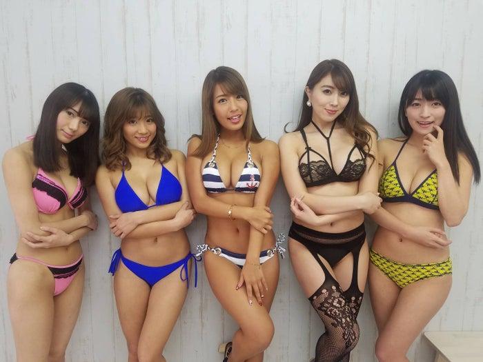 上村みやび、葉月あや、橋本梨菜、森咲智美、☆HOSHINO (提供写真)