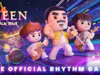 クイーン初の公式モバイル・ゲーム『Queen:ロックツアー』がリリース