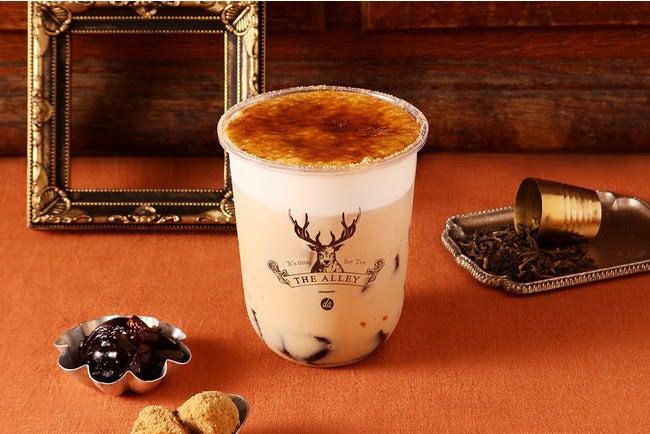 リッチ小山緑茶黒糖ゼリーミルクティー  Mサイズ COLD ¥572/画像提供:ポトマック