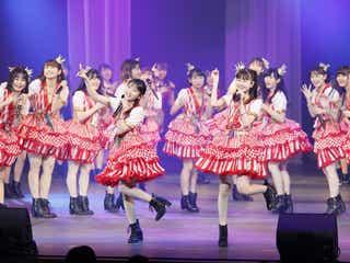 HKT48田中美久が宣言「莉乃ちゃんの後を引き継いで…」 指原莉乃ら先輩メンバーも観覧<セットリスト>