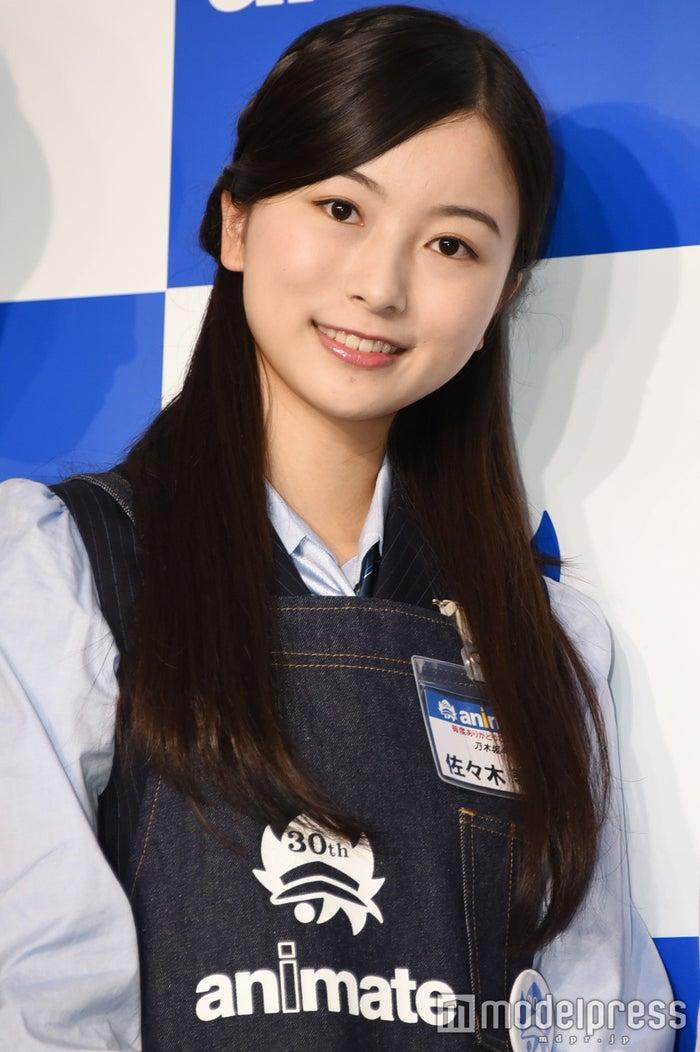 「女性アイドル顔だけ総選挙」3位に輝いた乃木坂46の佐々木琴子(C)モデルプレス