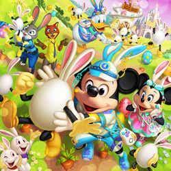 """「ディズニー・イースター」2パーク詳細発表 今年は新キャラクター""""うさたま""""&新パレード登場(C)Disney"""