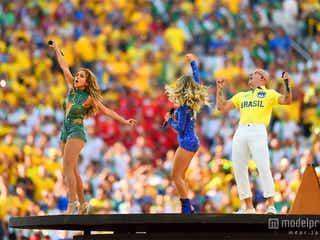 W杯開幕!ジェニロペ、ピットブルが開会式で迫力のパフォーマンス ブラジル勝利で6万人熱狂